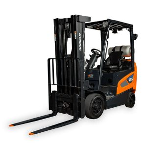 cushion doosan forklift