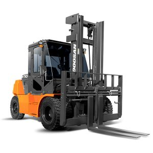 doosan pneumatic tire forklifts