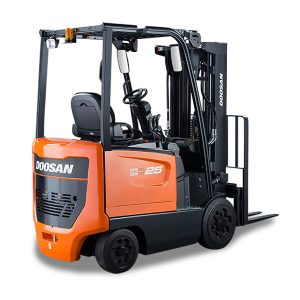 doosan electric forklifts california